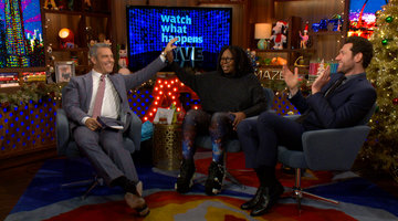 Does Whoopi Speak to Ted Danson?