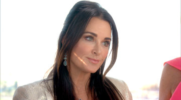 Kyle Richards Tells Lisa Rinna About Her Run-In With Harry