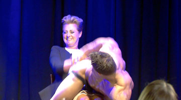 Chyka Gets Her Groove on – With Male Strippers