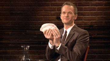 Neil Patrick Harris Performs Magic on IAS!