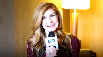Connie Britton Has the Best Red Carpet Ritual