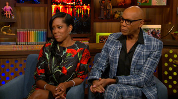 Regina & RuPaul Talk Mr. Chocolate & Kenya Moore