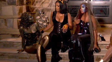 LaToya Ali and Falynn Guobadia Clash at Falynn's Halloween Bash!