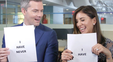 Ryan Serhant and Emilia Bechrakis Play Never Have I Ever