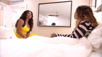 Was Kenya Moore Disrespectful of Phaedra Parks' Marriage?
