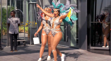 Nene Leakes and Kenya Moore Clash at Carnival