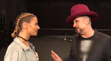 Unseen Moment: Boy George Has Some Words of Wisdom for Dorit