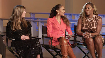 "Serena Williams Says Nancy Volpe-Beringer ""Has an Amazing Talent"""