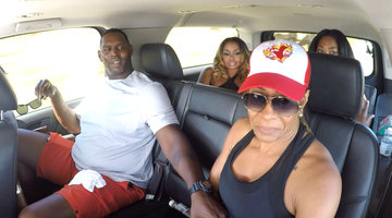 Sheree Whitfield's Ex Brings Her to Tears