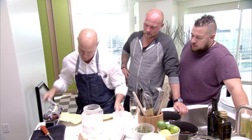 Tom Colicchio Cooks for the Top 2!