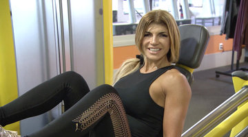 Teresa Giudice's Intense Workout Routine