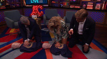 After Show: Dr. Oz Teaches CPR Live in the Clubhouse