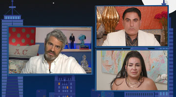 Reza Farahan on Posting Sensitive Information about Mercedes Javid's Health
