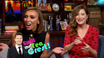 Giuliana Spills the Tea-Crest!