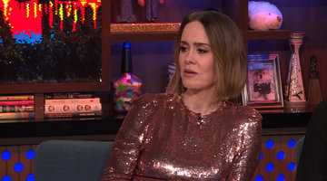 Sarah Paulson Cried When Meeting Cher