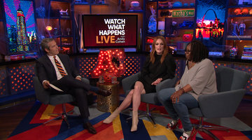 Which Projects Haunt Julianne & Whoopi?