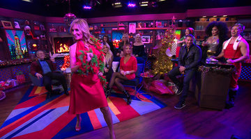 Sonja Morgan's Holiday-Themed Caburlesque!