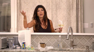 "Teresa Giudice Storms Off After Feeling ""Attacked"" by the Ladies"
