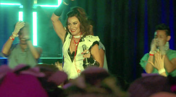 Luann de Lesseps Gives a Special Halloween Performance