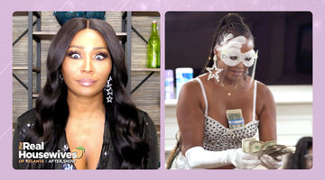 Kenya Moore Calls Cynthia Bailey Out for Making It...Drizzle on Bolo the Stripper