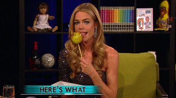 Denise Richards' Halloween Treat