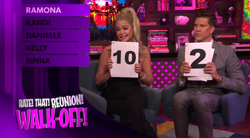 Fredrik Eklund & Denise Richards Rate Reunion Walk-Offs