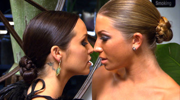 Stassi and Scheana's Kiss