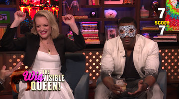 Elisabeth Moss and Aldis Hodge Play The Wigvisible Queen