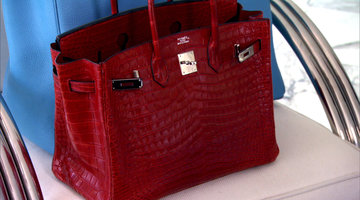 The Queen of Birkins