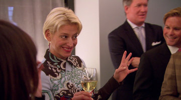 Dorinda Takes Another Stab at Making a Speech
