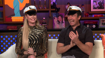 Rebecca Romijn & Jerry O'Connell on #BelowDeck Drama