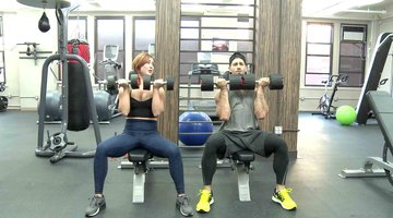Work Out New York Exercises: The Arnold Shoulder Press