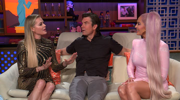 Erika Jayne, Rebecca Romijn & Jerry O'Connell on Denise Richards' Wedding