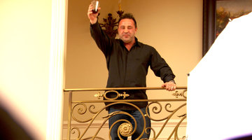 Joe Giudice Toasts His Family