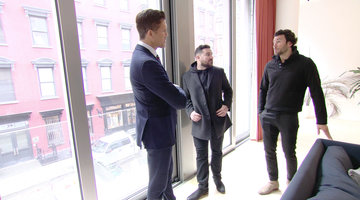 Fredrik Eklund Shows an Apartment to Steve Gold's Childhood Friend