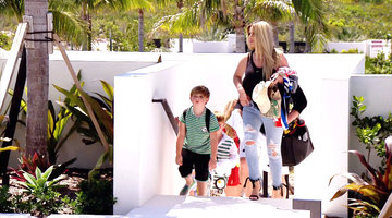 The Biermanns Arrive in Turks and Caicos!