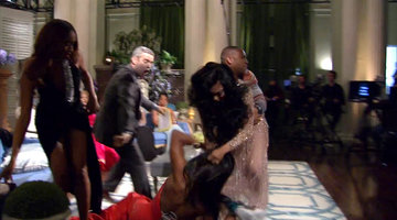 Porsha Williams Gets Carried Out of the Reunion