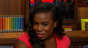Uzo Gives Crazy Eyes' Housewife Tagline