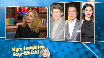 Kyra Sedgwick Says-Which!