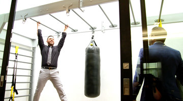 Josh Altman Tests Out This Luxury Home's Incredible Gym