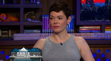 Rose McGowan Pleads the…Fourth?!