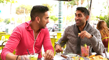 "Vishal Parvani and Amrit Kapai Love ""Clothing Optional"" Key West"