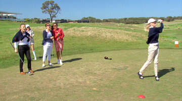 The Melbourne 'Wives Go Golfing