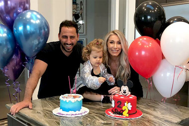 Heather Josh Altman Daughter Alexis Is 2 Years Old Cake Party Pics