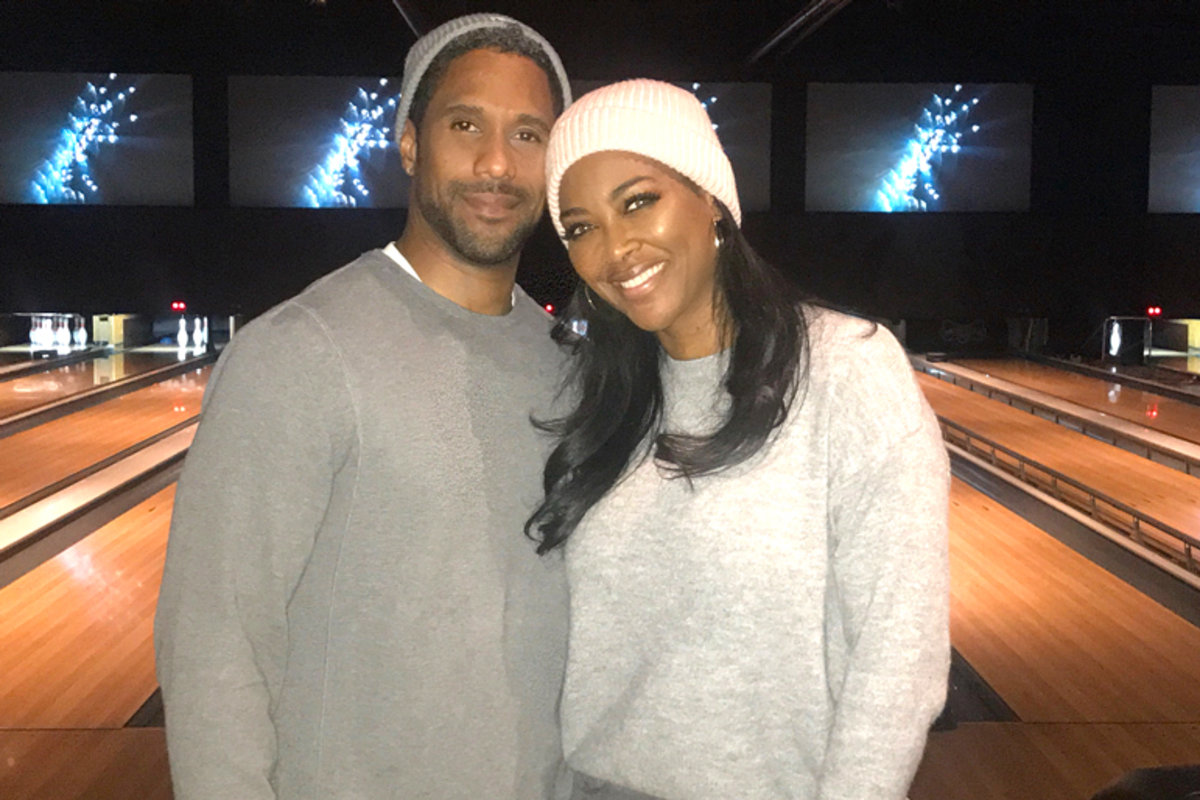 who is kenya moore dating now