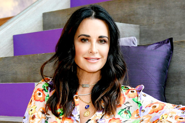 Kyle Richards Rhohbh Reunion Hair