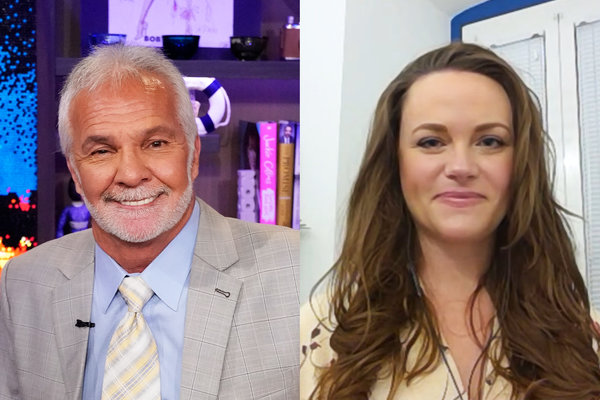 Captain Lee Rosbach Rachel Hargrove Work Together Again