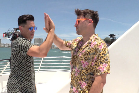 Tom Schwartz and Tom Sandoval Have a Special Handshake
