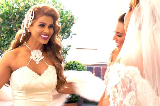 The #RHOMelbourne 'Wives Wear Their Wedding Gowns Again