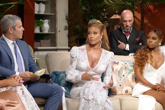 Gizelle Bryant and Michael Darby Face Off at the Reunion